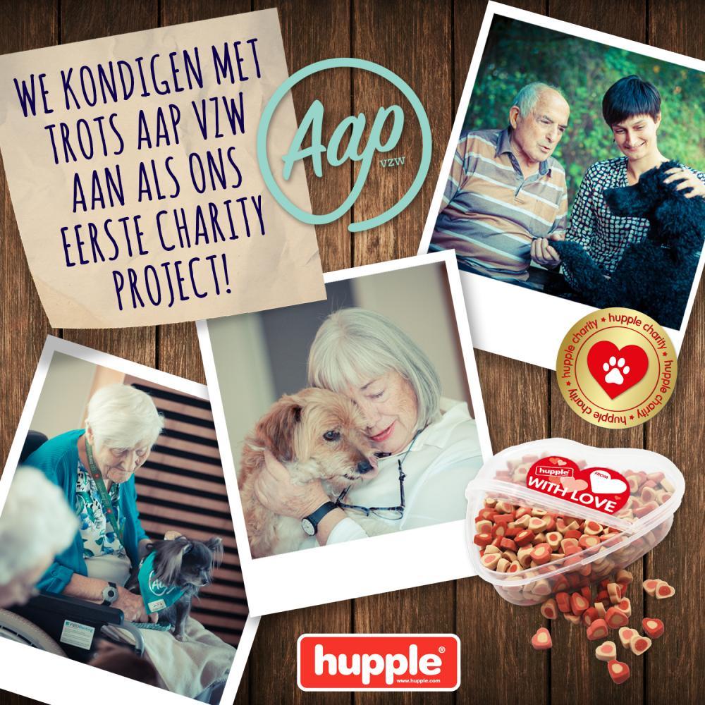 HUPPLE CHARITY: EEN HART VOOR DIEREN